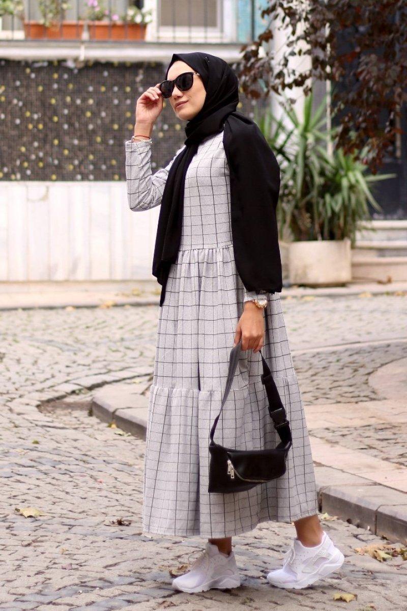 Madrid Gri Elbise