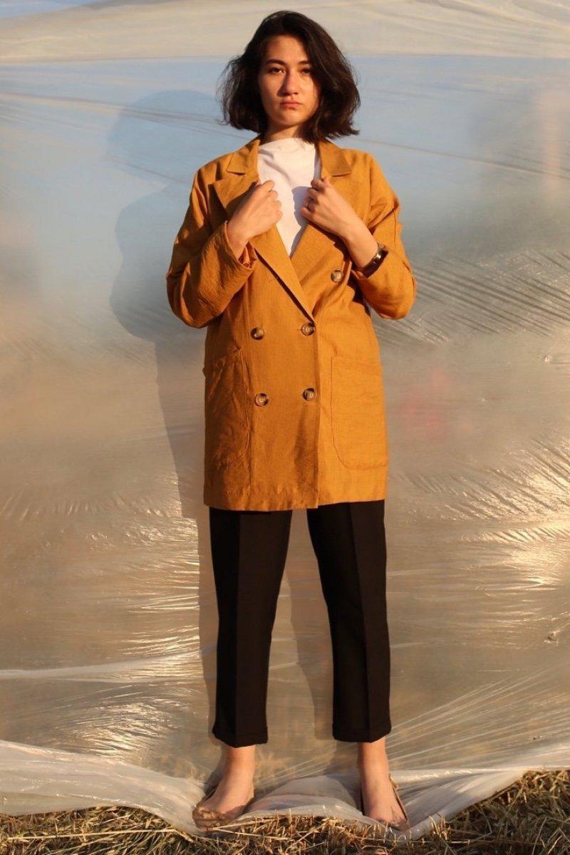 Kiremit Hardal Ceket